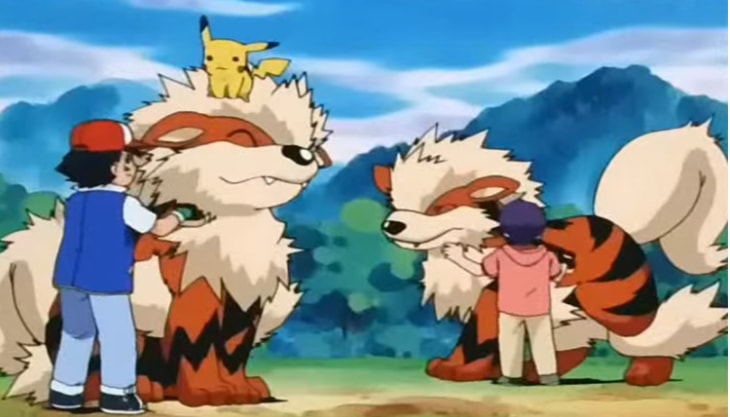 Arcanine Dog Pokemon