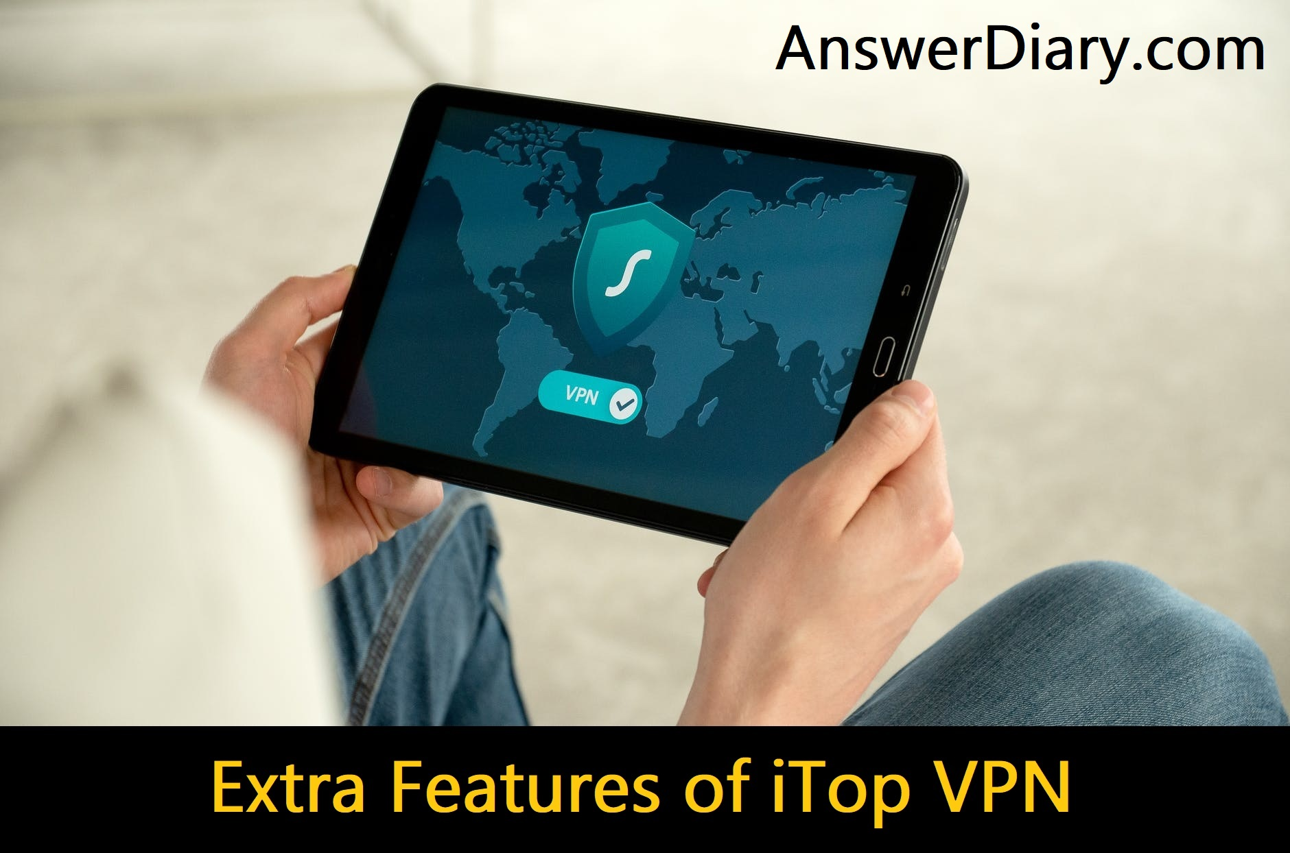 Extra Features of iTop VPN