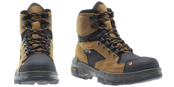 What are the several features available in work boots?